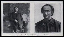 1902  --  LE CHANOISNE ROSENBREG EN CIVIL ET EN SOUTANE  3M542