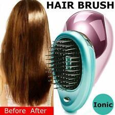 Electric Ionic Hairbrush Vibration Shampoo Scalp Hair Brush Comb U8Z0