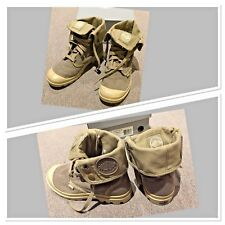 """AS NEW IN BOX LADIES SIZE 7 """"PALLADIUM"""" BAGGY (BOUE/PUTTY) BOOTS/SHOES RRP$140"""