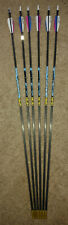 Gold Tip Kinetic Kaos 300 Arrow Setup with Installed Fact Weights - 1/2 Dozen