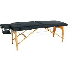 BestMassage Black PU Portable Massage Table w/Free Carry Case U1 Bed Spa Facial