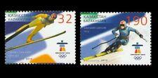 2010. Kazakhstan. XXI Olympic Winter Games. Vancouver. MNH. Set. Sc.615-616