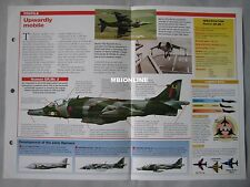 Aircraft of the World Card 17 , Group 4 - Harrier GR.MK1/GR.MK3