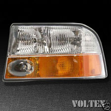 2000-2004 GMC Sonoma Jimmy Headlight Lamp Clear lens Halogen Driver Left Side