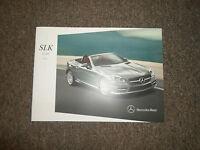 2014 MERCEDES BENZ SLK Class Sales Brochure Manual FACTORY OEM BOOK 14 DEAL