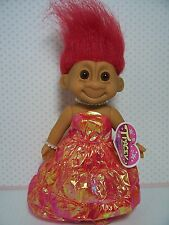 """TRACEY AT THE QUEEN'S BALL - 7"""" Russ Troll Doll - NEW IN ORIGINAL WRAPPER"""