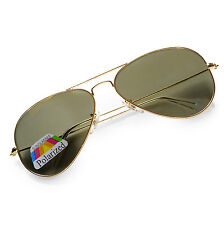 4sold Pilot Original Mirror Lens Polarized Sunglasses Glasses Air Force Unisex