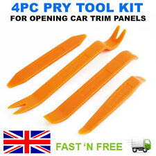 4PCS CAR TRIM DOOR PANEL REMOVAL MOLDING SET KIT POUCH PRY CLIP TOOL INTERIOR UK