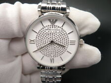 New Old Stock EMPORIO ARMANI AR1925 Stainless Steel Quartz Women Watch