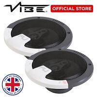 "FLI VIBE 6"" 219w Peak Car Audio 70w RMS 3 Way Replacement Coaxial Speaker - Pair"