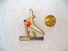 France telecom gymnastics Brest 1990. Official sport pin