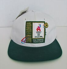 1996 US OLYMPICS Mens Hat SNAPBACK NWT NEW Soccer THE GAME USA MADE Atlanta