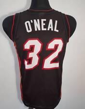 Miami Heat  O'neal #32 black NBA Finals Jersey Swingman Basketball usa champion