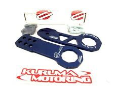 PASSWORD JDM BLUE TOW HOOKS CIVIC CRX INTEGRA RSX