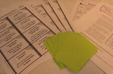 TEACHERS: I Have, Who Has?  DIY Flashcards-Identify the Likely Effect (Gr. 1-2)