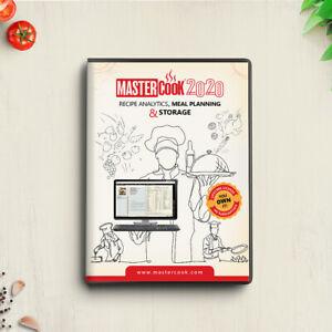 Mastercook 2020 for Windows PC DVD NEW!