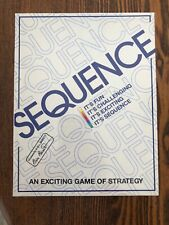 Sequence Board Game New in Packaging 1995 Jax