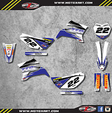 Yamaha TTR 125 / 2008 - 2016 sticker kit SHOCKWAVE style decals Fully Custom