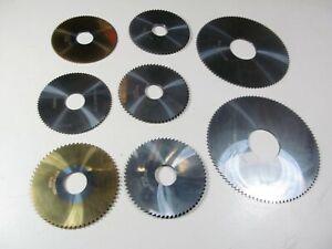 8 VHM Sägeblätter Ø 80 und 50 mm für Metall Metallsägeblatt Kreissägeblatt