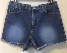 Canyon River Blues Fraye hem High Rise Cut Off Jean Shorts sz 7 VTG