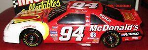1996 Bill Elliott 1/24 RCCA Action McDonalds Ford Thunderbird Nascar BW Car Bank