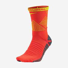 NIKE STRIKE MERCURIAL Dri-FIT Soccer Crew Socks SX5437-871 (8-9.5) Orange/Yellow