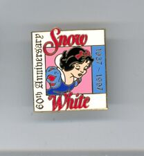 1997 Disney Disneyland 60th Princess Snow White & 7 Dwarfs Cast Le Pin