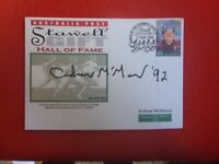 ANDREW MCMANUS   HAND SIGNED STAWELL GIFT COVER HALL OF FAME