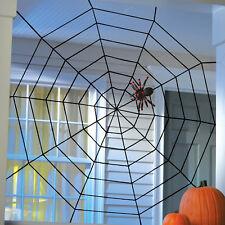 5ft Halloween Horror Spiders Spider Black Rope Spider-Web Prop Decoration