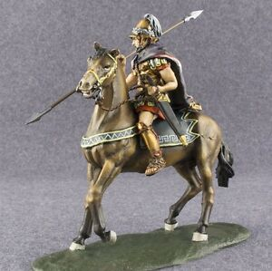 Toy Action Figure 1/32 scale Ancient Greece Macedonian Horse Rider Painted 54mm