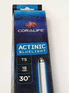 """Coralife T5 - 18 Watt - 30""""- Actinic Bluelight Aquarium replacement lamp (3-3-5)"""