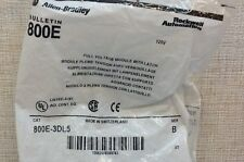 NEW Allen-Bradley 800E-3DL5 Ser. B Full Voltage Module with Latch