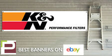 K & N Air Filter GARAGE WORKSHOP Banner with eyelets