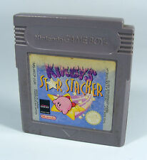 Kirby STAR STACKER per Nintendo Game Boy GB GBC COLOR GBA-SOLO MODULO Kirbys