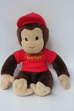 "Vintage Curious George Monkey Plush doll 10"" by GUND"