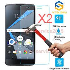 2Pcs Premium 9H+ Tempered Glass Screen Film Protector For BlackBerry Neon DTEK50