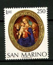 San Marino 1974 SG#1017 Christmas MNH #A22300