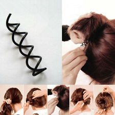 Girl Spiral Hair Pin Screw Spin Twist Hair pin Clip Bun Stick Barrette DIY10pcs