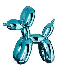 Balloon Dogs- Blue Metallic finish/ Home decor/ Fine craft/ Perfect gift/
