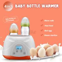 4 in 1 Multifunction Baby Bottle Warmer Heating Up Milk Automatic Equipmen