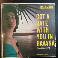 "VARIOS: ""Got A Date With You in Havana"" Vinyl Record LP"