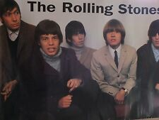 1996 DEEGEE  Large Poster THE ROLLING STONES with Brian Jones  PO42