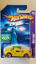 Hot Wheels Ford GT-40 Red Line 2 Yellow 2006