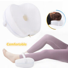 Wedge Contour Pillow for Side Sleepers Memory Foam Knee Pillow Sciatica Relief