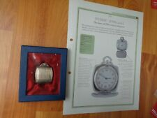 HACHETTE CLASSIC POCKET WATCH COLLECTION - PURSE 1900S STYLE WATCH #18