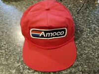 Amoco  Gasoline Vintage by  Capital Caps Snap Back  Truckers  Cap