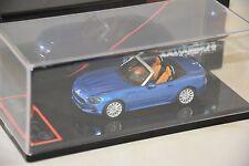 BBR BBRC181D  - Fiat 124 spider Bleu Azure geneve 2016   1/43