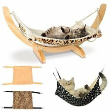 warm cat hammock fur bed hanging cat cage ferret rest house soft pets supplies cat hammocks   ebay  rh   ebay