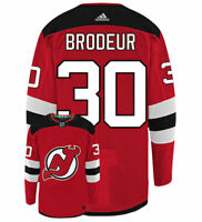 Martin Brodeur New Jersey Devils Adidas Authentic Home NHL Vintage Hockey Jersey
