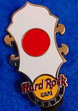 OSAKA JAPAN HRC CORE HEADSTOCK SERIES JAPANESE NATIONAL FLAG Hard Rock Cafe PIN